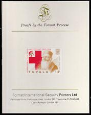 Tuvalu (1583) - 1988 Rotes Kreuz 15C IMPERF auf Format International Beweis