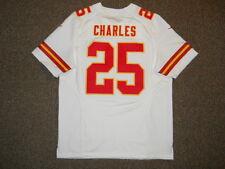 Jamaal Charles Kansas City Chiefs White Authentic Nike Elite Jersey sz 48 New