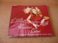 Single CD Kathrin & Peter - Das Wunder der Liebe + Was kann ich denn dafür