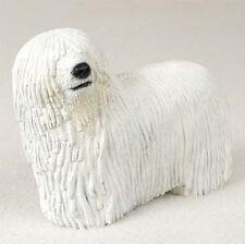 Komondor Hand Painted Collectible Dog Figurine