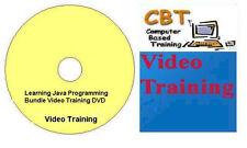 Learning Java Programming Bundle Video Training DVD