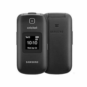 Samsung Denim A207 GSM Unlocked Cricket Clamshell Flip Phone