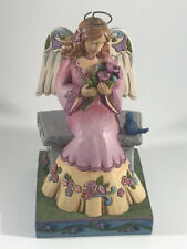 Jim Shore Beauty in The Garden Spring Angel on Bench Figurine 4033260