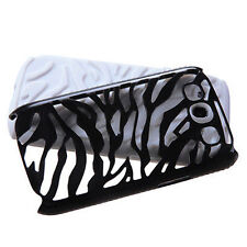 For Samsung Galaxy S III 3 Hybrid Zebra Fusion Case Phone Cover Black White