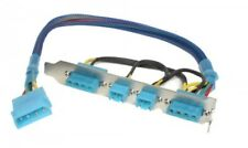 AC Ryan Backy UV Blue Sleeved, Access 5V & 12 Volt DC power from back of your PC