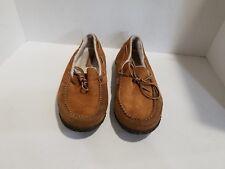Sorel Mens Chestnut Suede Loafers Size 10