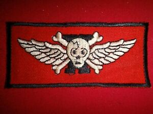 Vietnam War Patch ARVN Special Forces WINGED SKULL
