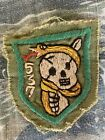 Vietnam War Theater Special Forces Green Beret ARVN 537th Shock Commandos Patch