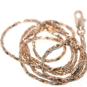 Long 20 in Womens Girls Chain Choker Necklace for Pendant Charms Gold Jewellery