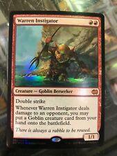 MTG Magic - [1x] WARREN INSTIGATOR foil SP Duel Decks Merfolk vs Goblins