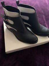 John Lewis Frampton Black And White ladies boots size 39
