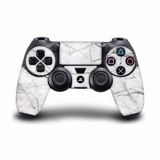 PlayStation 3 4 Pro Slim Controller skins sticker decal white marble PLR331
