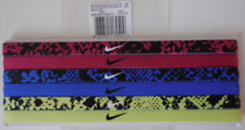 Nike Printed Headbands Assorted 6 Pack Sport Fuchsia/Game Royal & Multicolor