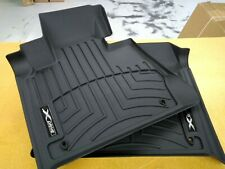 BMW Black All Weather Floor Liners FRONTS 2000-2006 E53 X5 3.0i 4.4i 82110419040