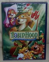 ROBIN HOOD CLASICO DISNEY Nº 21 DVD NUEVO PRECINTADO ANIMACION (SIN ABRIR) R2