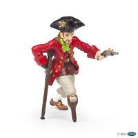 Papo 39467 Pirata con Pierna de Madera y Pistola 10cm Piratas y Corsarios