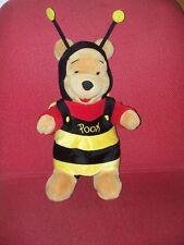 "POOH BEAR 14"" Disney, Bumblebee Suit,black/yellow"
