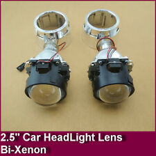 "2.5"" Mini H4 H7 Hid Bixenon Projector Lens For H1 Bulb Car With Shround"