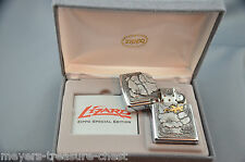 stunning ZIPPO limited Golden Lizard - Special Edition in the black Zippo box