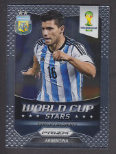 Panini Prizm World Cup 2014 - Stars # 2 Sergio Aguero - Argentina