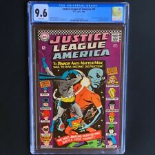 Justice League of America #47 (DC 1966) 💥 CGC 9.6 💥 Only 4 Higher! JSA X-over