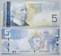 Kanada / Canada 5 Dollars 2010 p101Ad unz.