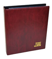 Guardian Postcard Album with leaves to hold up to 120 cards