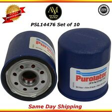Set of 10 Synthetic PSL14476 Oil Filter Chevrolet Toyota Pontiac 1.8L 2.2L
