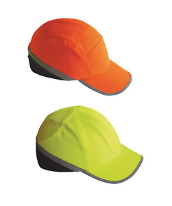 Portwest PW79 High Visibility Safety Bump Cap Head Protection