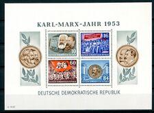 DDR: BLOCK 9A Marx postfrisch. Mi: 100,-