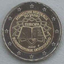 2 Euro Deutschland F 2007 Römische Verträge unz