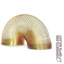 Classic Metal Springy Spring Slinky Toy Traditional Retro Gift Novelty Gadgets