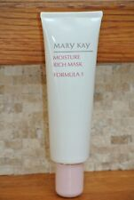 NEW Mary Kay Moisture Rich Mask Formula 1 Dry & Normal Skin 4 oz.