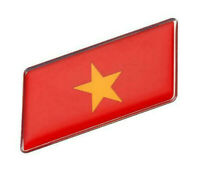 Vietnam Aufkleber Sticker Flagge Auto Metall swe selbstklebend KFZ 3D Tuning