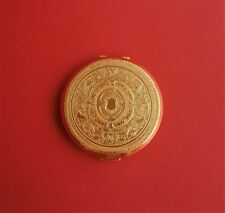 Vintage Gold Tone Stratton Powder Compact with Mirror