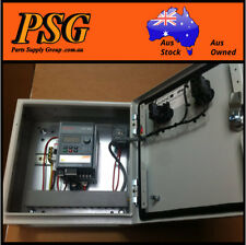 2.2kw VSD speed controller in cabinet - 240 Volt supply in - 3phase 230v output