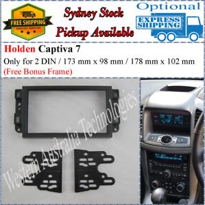 Fascia facia Fits Holden Barina Captiva 7 TK CG EP Double Two 2 DIN Dash Kit