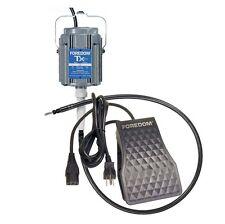 Foredom M.TX-TXR foot pedal, 115v 1/3 hp 15,000 rpm