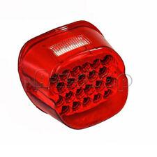 Motorcycle Red Lens LED Tail License Brake Bulb Light For Harley Davidson