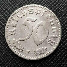 Allemagne 50 Reichspfennig 1935 J Alu    [444]