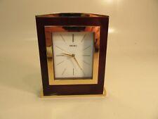 Seiko Desk Clock # QHG024G 6'' Tall Japan Movement