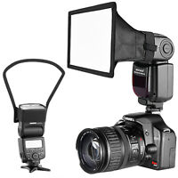 Neewer Speedlite Flash Softbox and Reflector Diffuser Kit for DSLR Cameras Flash