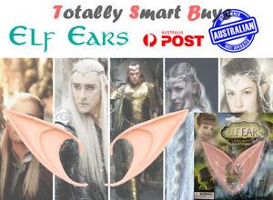 Elf Ears Elven Fairy Pixie Hobbit Demon Pointy Halloween Costume  Cosplay AUS
