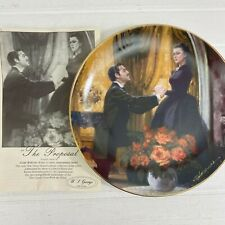 Gone With The Wind Golden Anniversary The Proposal Collector Plate 1988