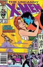 X-Men (1963 series) # 204 (1986) – Fine – Newsstand copy – Nightcrawler !