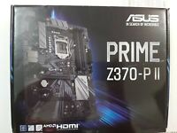 ASUS Prime Z370-P II LGA1151 (Intel 8th and 9th Gen) ATX DDR4 HDMI DVI M.2