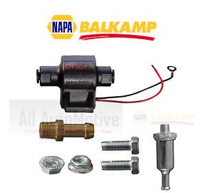 Universal Electric Fuel Pump NAPA BALKAMP Facet 12v 4-7psi 32gph