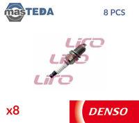 8x DENSO ENGINE SPARK PLUG SET PLUGS K20PR-U11 P NEW OE REPLACEMENT