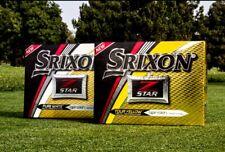 New Srixon Z Star Tour & Tour XV White Yellow Golf Balls - (2 / 4 / 6 Dozens)