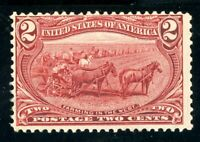 USAstamps Unused FVF US 1898 Trans-Mississippi Scott 286 OG MNH